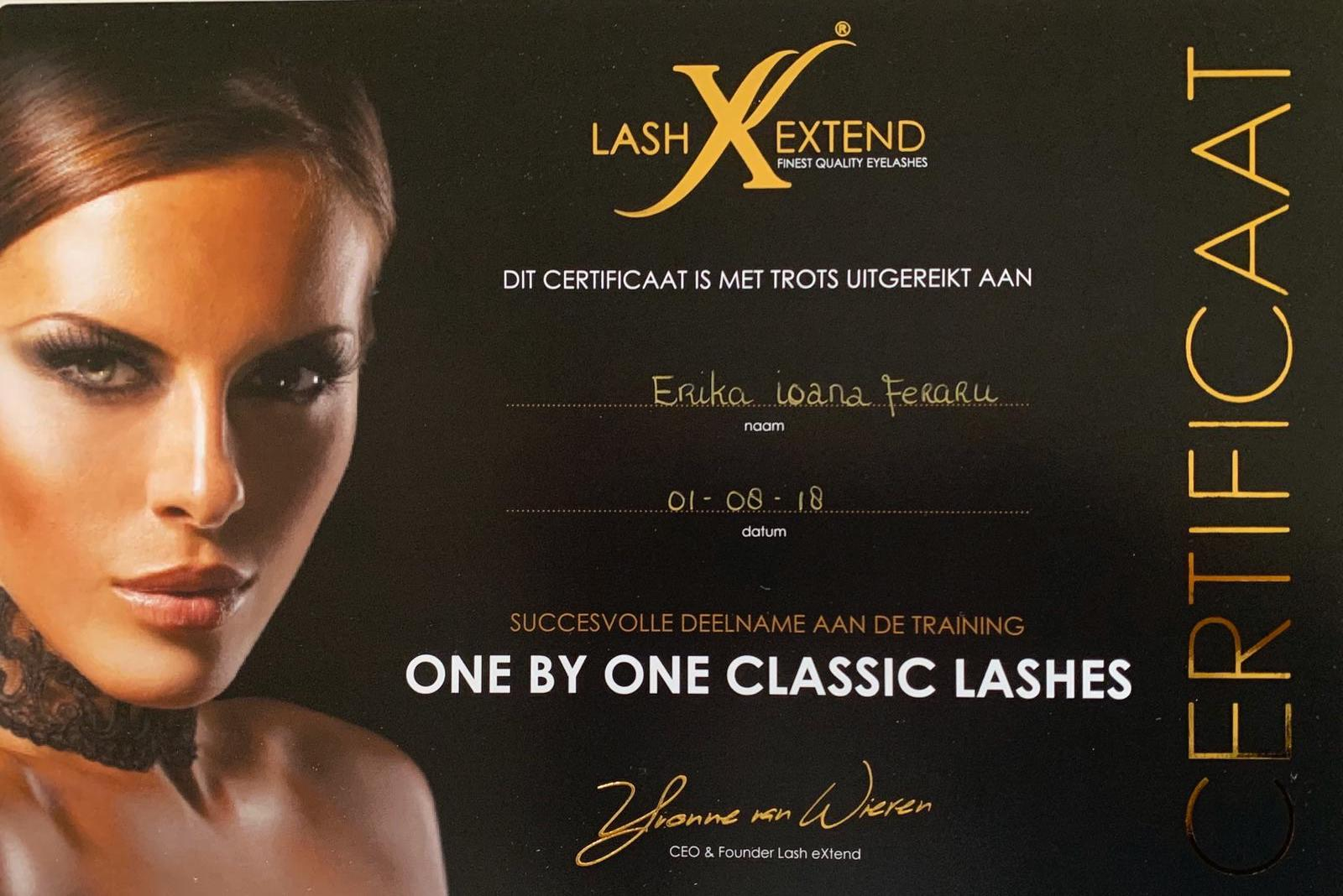 One by One lashes