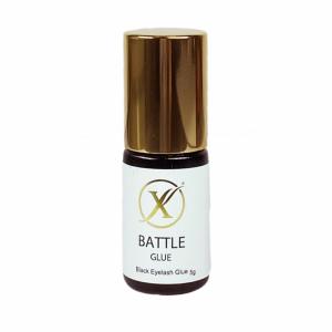 Battle glue eyelash extentions